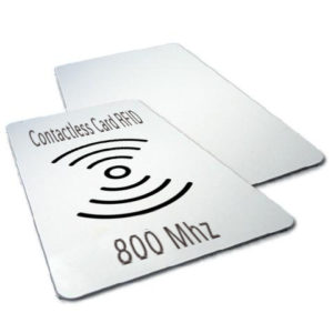 Contactless card RFID 800 Mhz